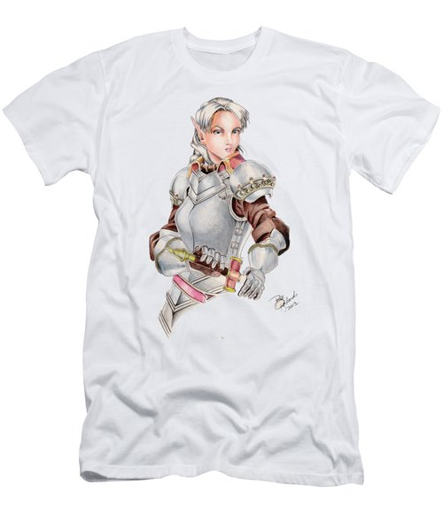 Female Elf Men's T-Shirt (Athletic Fit)