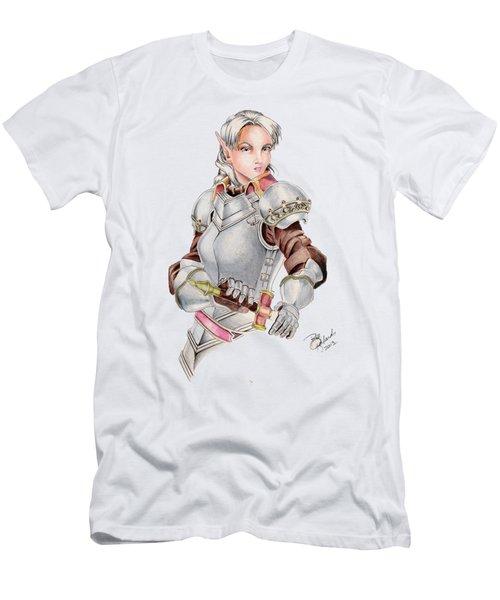 Female Elf Men's T-Shirt (Athletic Fit)