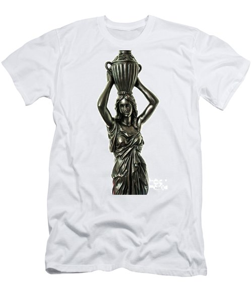 Female Water Goddess Bronze Statue 3288a Men's T-Shirt (Athletic Fit)