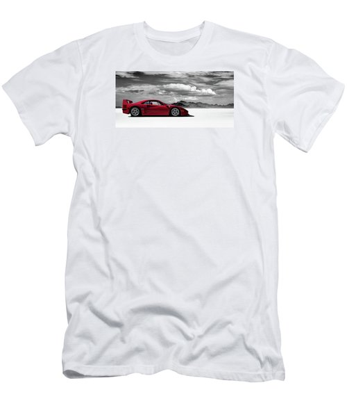 Ferrari F40 Men's T-Shirt (Slim Fit) by Douglas Pittman