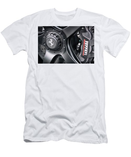 #ferrari #print Men's T-Shirt (Athletic Fit)