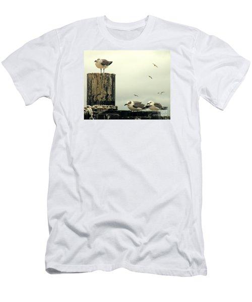 Ferry Hypnosis Men's T-Shirt (Slim Fit) by Joe Jake Pratt