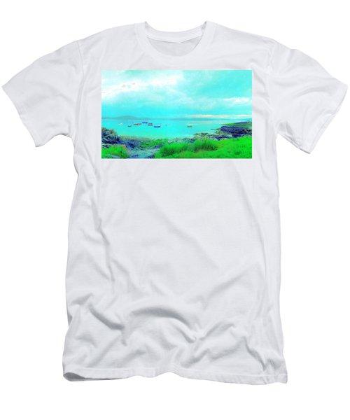 Ferry Wake Men's T-Shirt (Slim Fit) by Jan W Faul