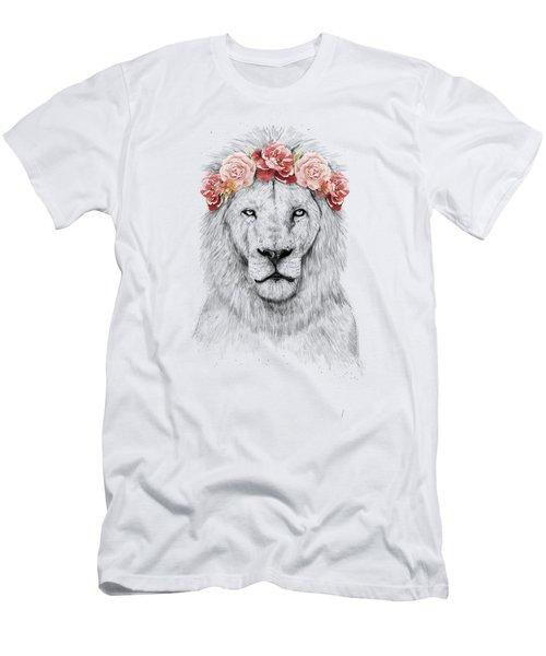 Festival Lion Men's T-Shirt (Athletic Fit)