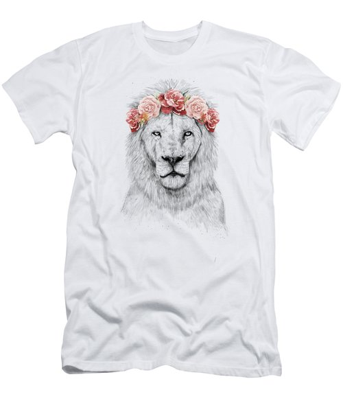 Festival Lion Men's T-Shirt (Athletic Fit)