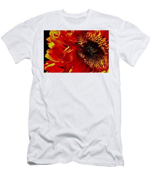Fickle Sunflower Men's T-Shirt (Athletic Fit)