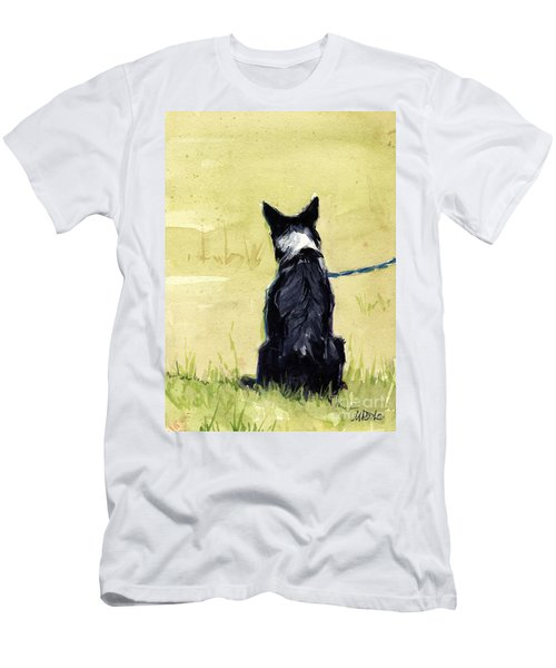 Field Greens Men's T-Shirt (Slim Fit) by Molly Poole