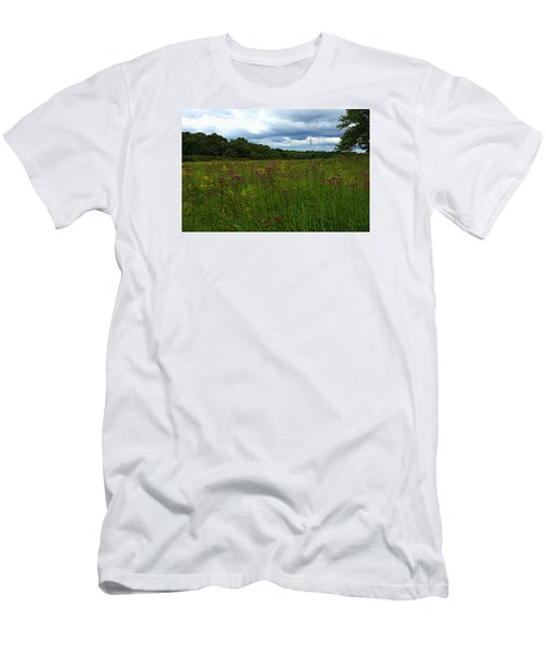 Field Of Color Men's T-Shirt (Slim Fit) by Bruce Carpenter