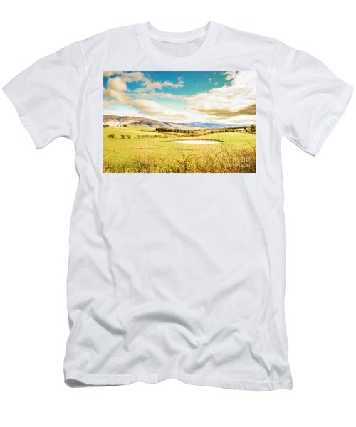 Fields Of Plenty Men's T-Shirt (Athletic Fit)