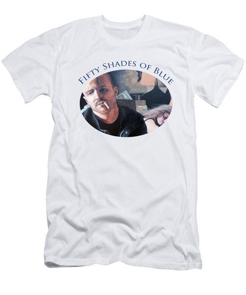 Fifty Shades Of Blue Men's T-Shirt (Athletic Fit)