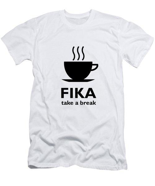 Fika - Take A Break Men's T-Shirt (Athletic Fit)