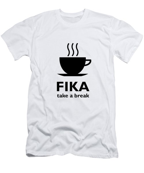 Fika - Take A Break Men's T-Shirt (Athletic Fit)