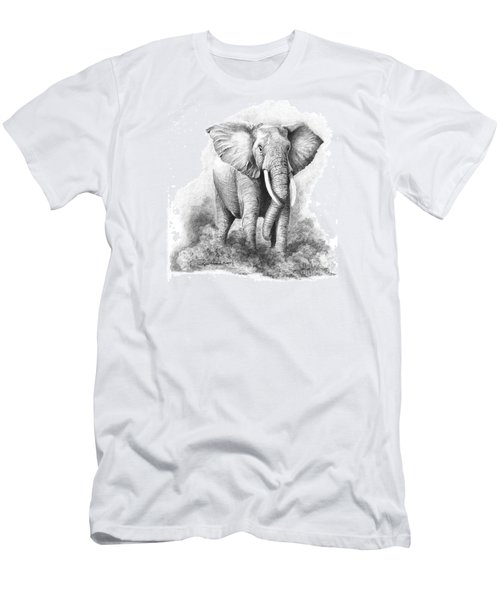 Final Warning Men's T-Shirt (Slim Fit) by Phyllis Howard