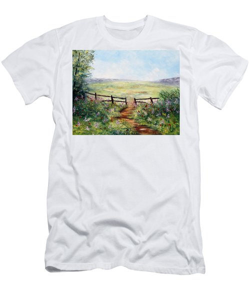 Finding Pasture Men's T-Shirt (Athletic Fit)