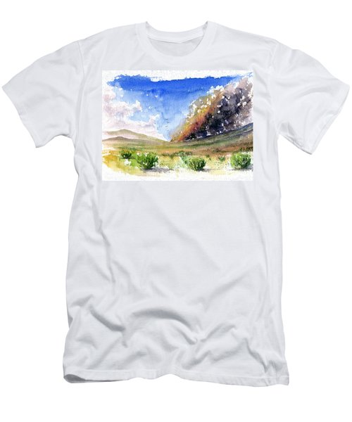 Fire In The Desert 1 Men's T-Shirt (Athletic Fit)