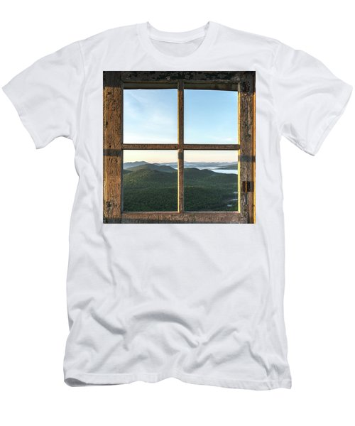 Fire Tower Frame Men's T-Shirt (Athletic Fit)