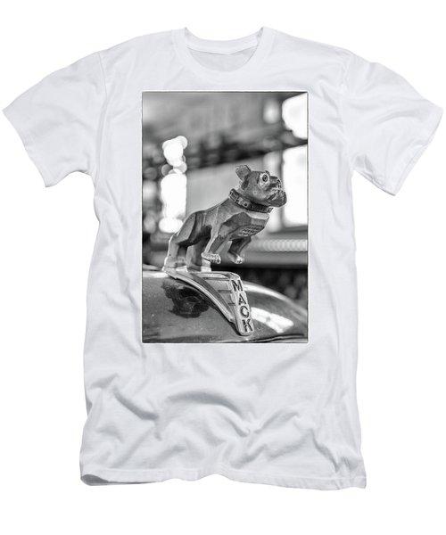 Fire Truck Hood Ornament Men's T-Shirt (Slim Fit) by Patricia Schaefer