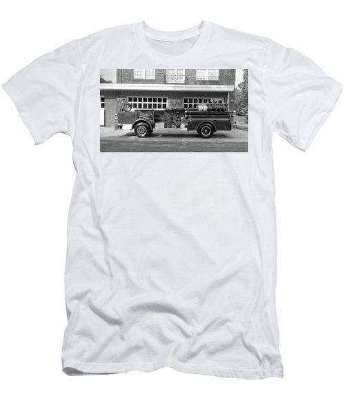 Fire Truck Men's T-Shirt (Athletic Fit)