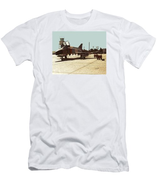 First Jet Men's T-Shirt (Slim Fit) by Walter Chamberlain
