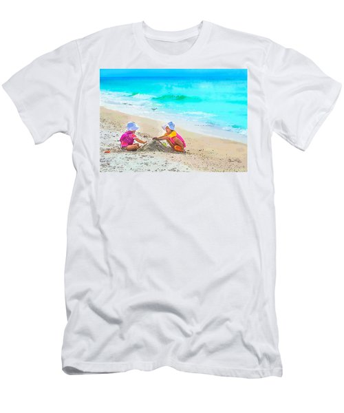 First Sand Castle Men's T-Shirt (Athletic Fit)