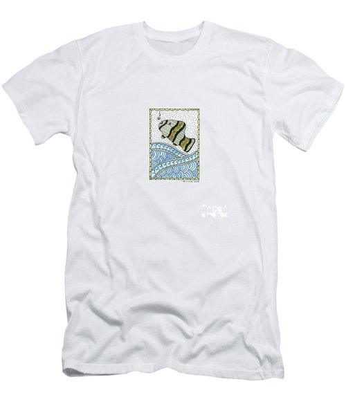 Fish In The Sea Men's T-Shirt (Athletic Fit)