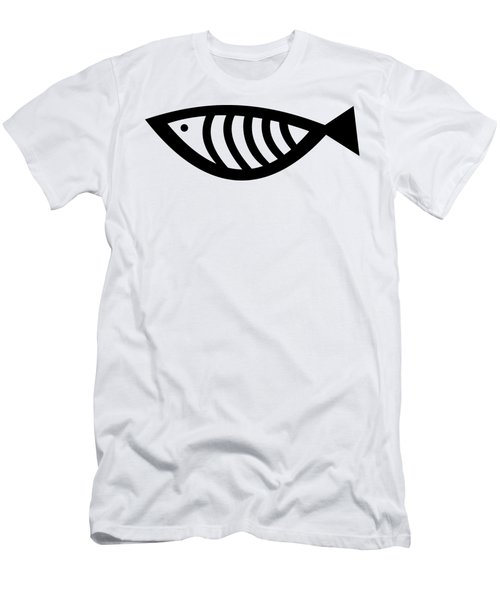 Men's T-Shirt (Athletic Fit) featuring the digital art Fish  by Donna Mibus