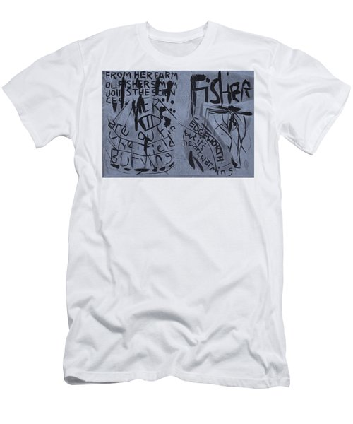 Fisher Covers Unmasked Men's T-Shirt (Athletic Fit)