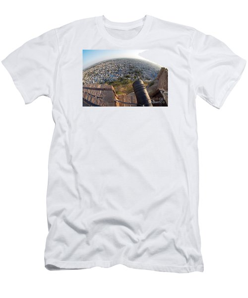 Men's T-Shirt (Athletic Fit) featuring the photograph Fisheye View Of Jodhpur by Yew Kwang