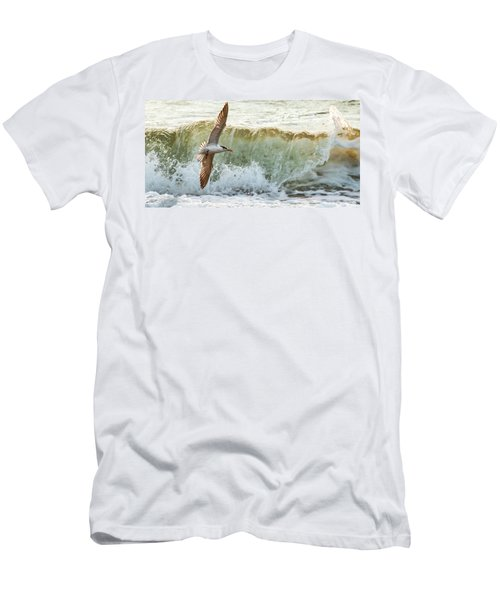 Fishing The Surf Men's T-Shirt (Athletic Fit)