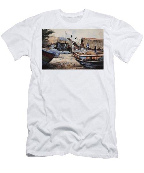 Fishing Village Of Puri Men's T-Shirt (Athletic Fit)