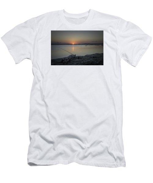 Fishing Poles Men's T-Shirt (Slim Fit) by Leticia Latocki