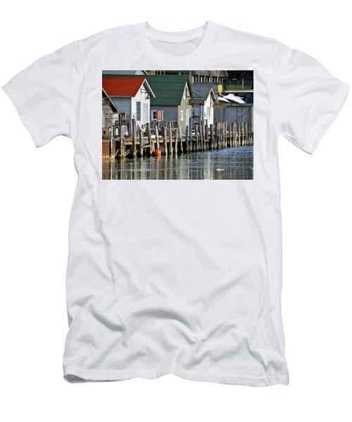 Fishtown In Leland Men's T-Shirt (Athletic Fit)