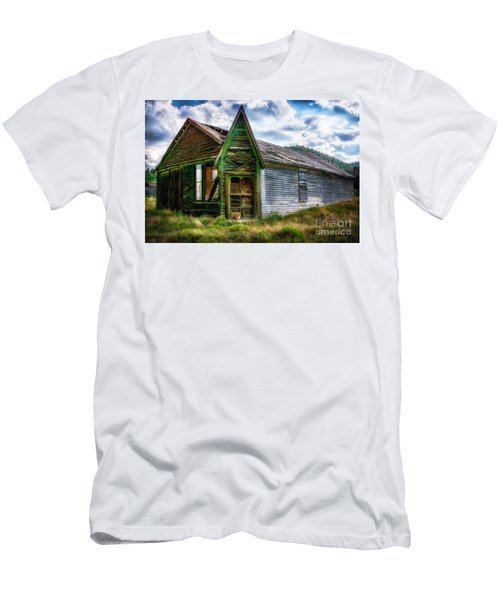 Men's T-Shirt (Athletic Fit) featuring the photograph Fixer Upper by Bitter Buffalo Photography