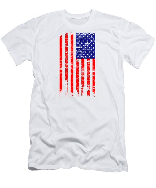 Flag 001 Men's T-Shirt (Athletic Fit)