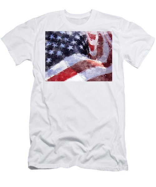 Flag Men's T-Shirt (Athletic Fit)