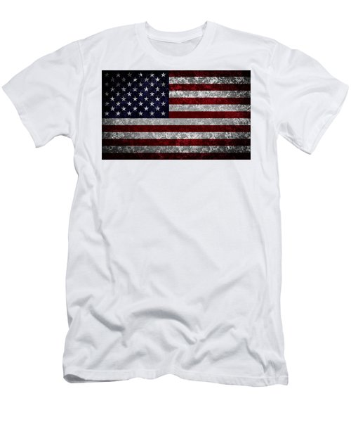 Flag Of The United States Men's T-Shirt (Athletic Fit)