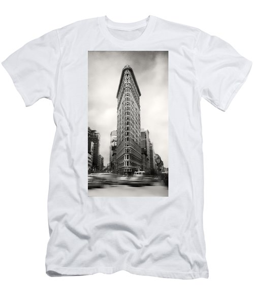 Flatiron District Rush Hour Men's T-Shirt (Athletic Fit)