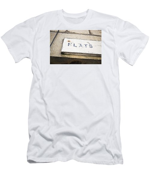 Flats Sign Men's T-Shirt (Athletic Fit)
