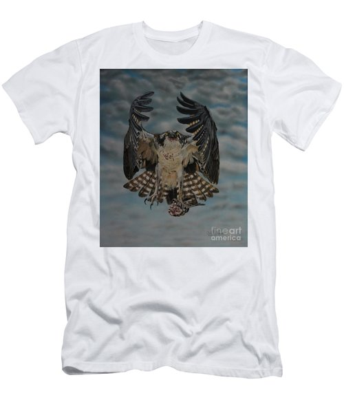 Fleck The Osprey  Men's T-Shirt (Athletic Fit)