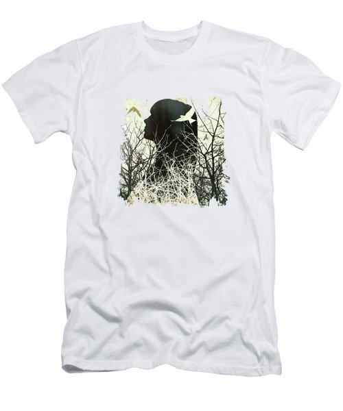 Fleeting Freedom Men's T-Shirt (Athletic Fit)
