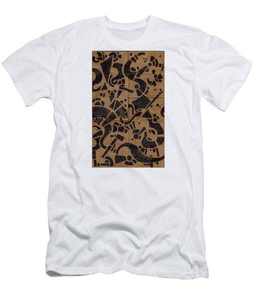 Flipside 1 Panel E Men's T-Shirt (Slim Fit) by Joseph A Langley