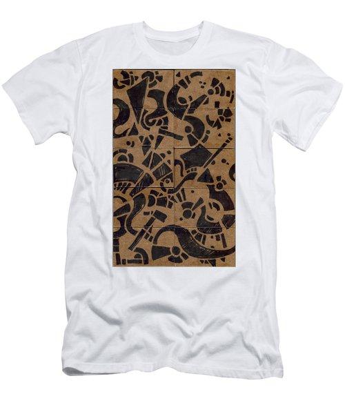 Flipside 1 Panel E Men's T-Shirt (Athletic Fit)