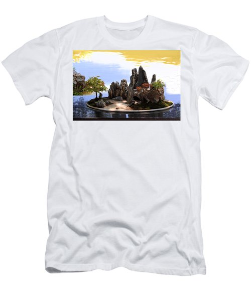 Floating Island Men's T-Shirt (Athletic Fit)