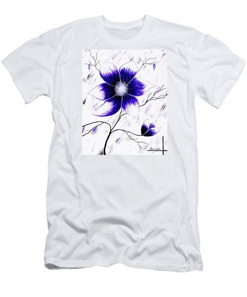 Floral Awakening Men's T-Shirt (Athletic Fit)