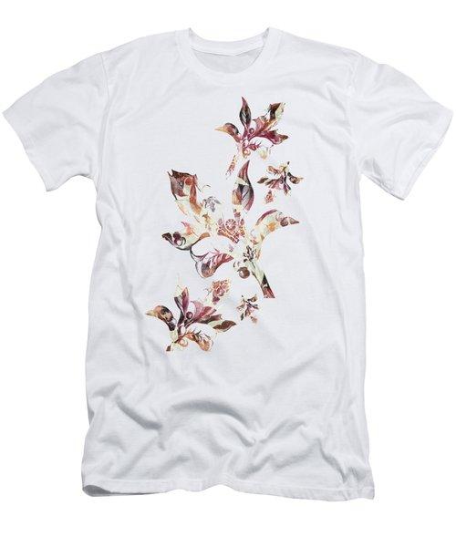 Floral Decor Men's T-Shirt (Athletic Fit)