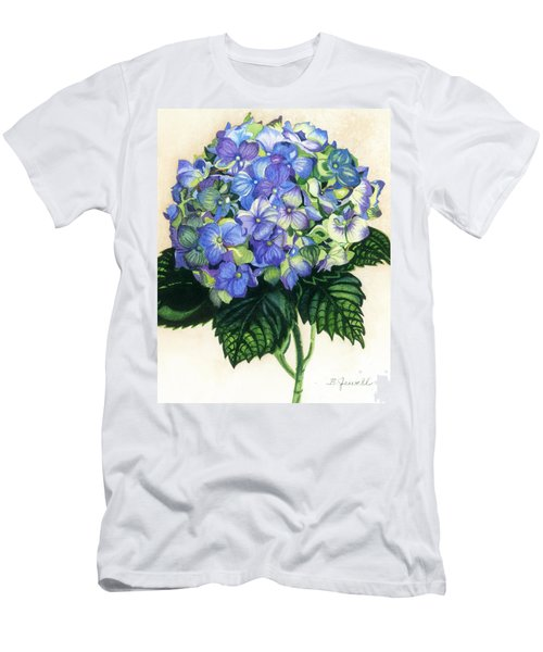 Men's T-Shirt (Slim Fit) featuring the painting Floral Favorite by Barbara Jewell