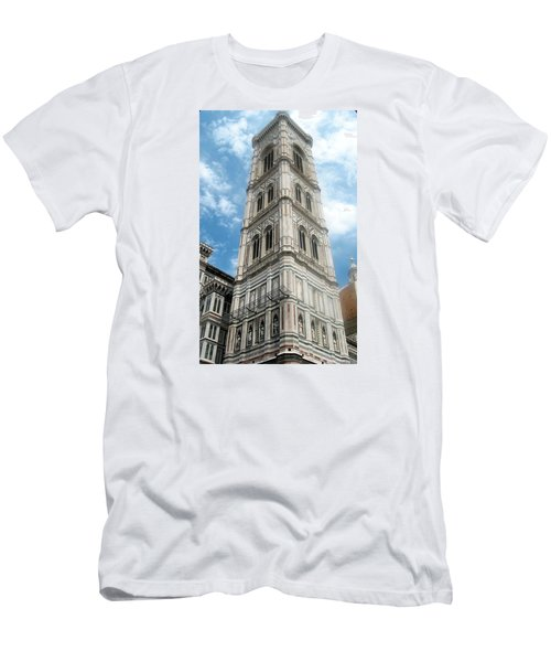 Florence Duomo Tower Men's T-Shirt (Athletic Fit)