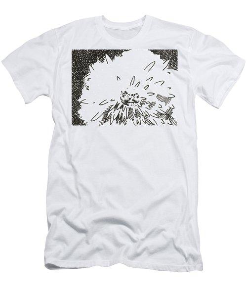 Flower 1 2015 Aceo Men's T-Shirt (Athletic Fit)
