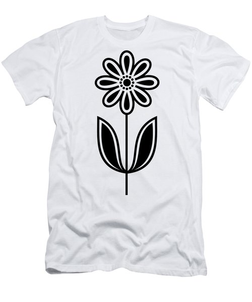 Men's T-Shirt (Athletic Fit) featuring the digital art Flower 1  by Donna Mibus
