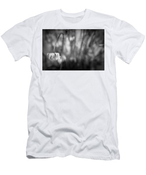 Flower #7421 Men's T-Shirt (Slim Fit) by Andrey Godyaykin